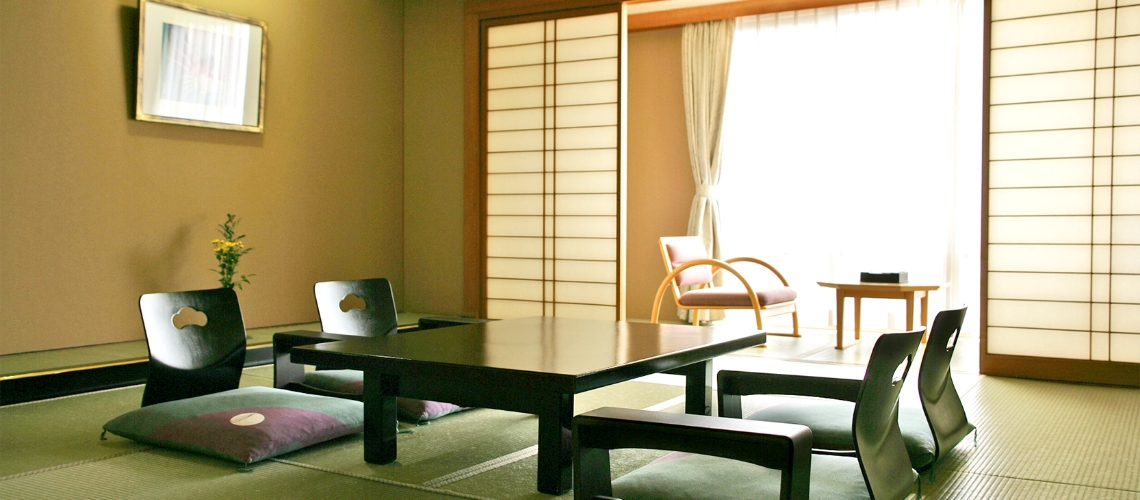 Yuyu-Kan Guest Rooms